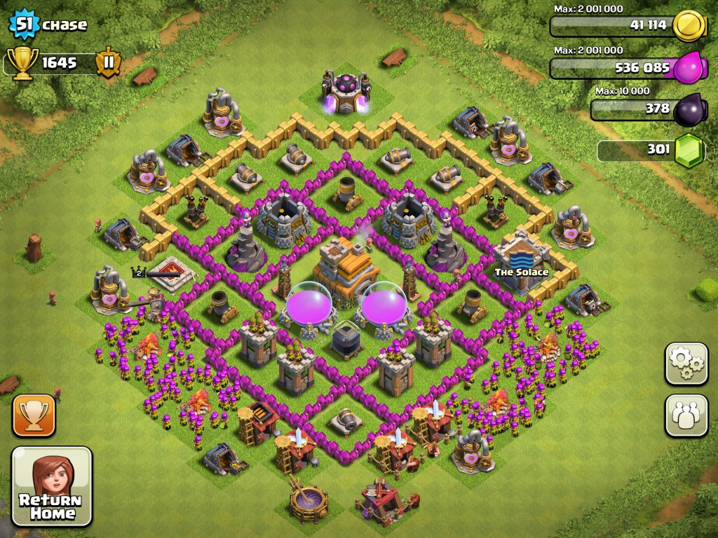 Town Hall 7 - Clash of Clans Tips For Noobs
